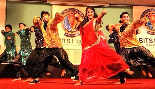 Bollywood dance group for themed events