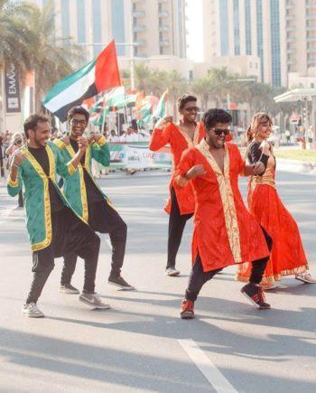 Bollywood dance group in Dubai