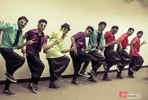 Bollywood dance group for private events