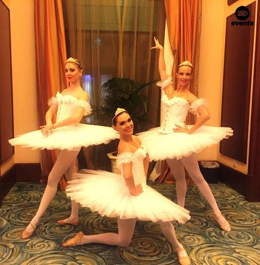 Breathtaking LED ballet for corporate events