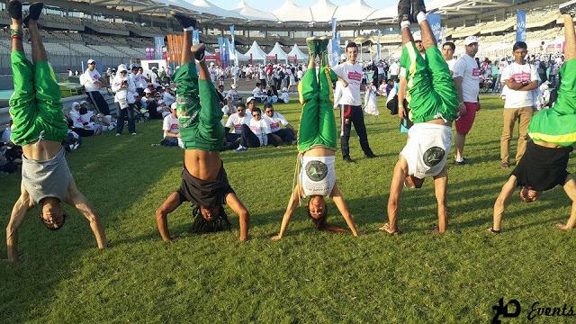Capoeira group for corporate events