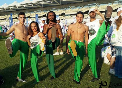 Capoeira group for sport events