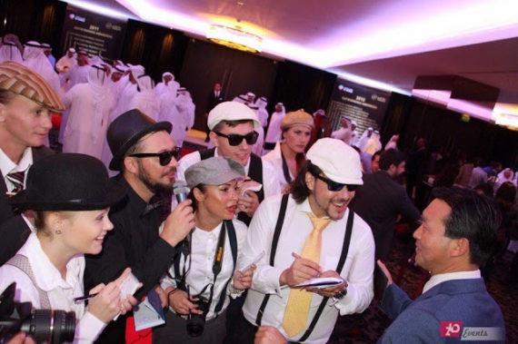 Fake paparazzi for corporate events