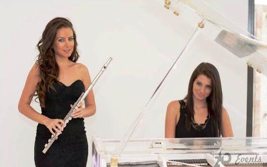 Female music duo for corporate events