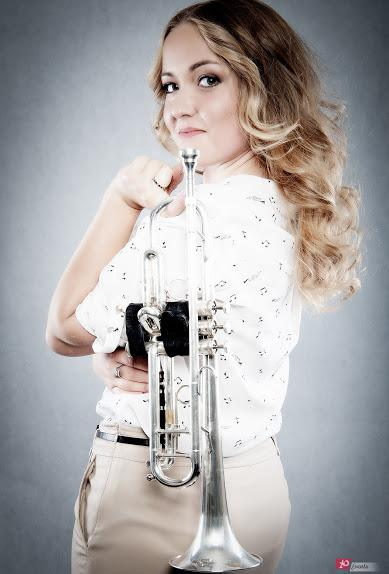 Girl Trumpet Player