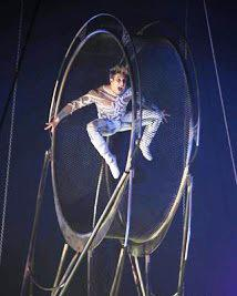 Wheel acrobat in Dubai