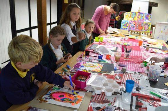 Workshop for kids for mall activities