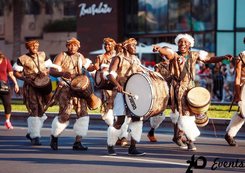 African drummers for festivals