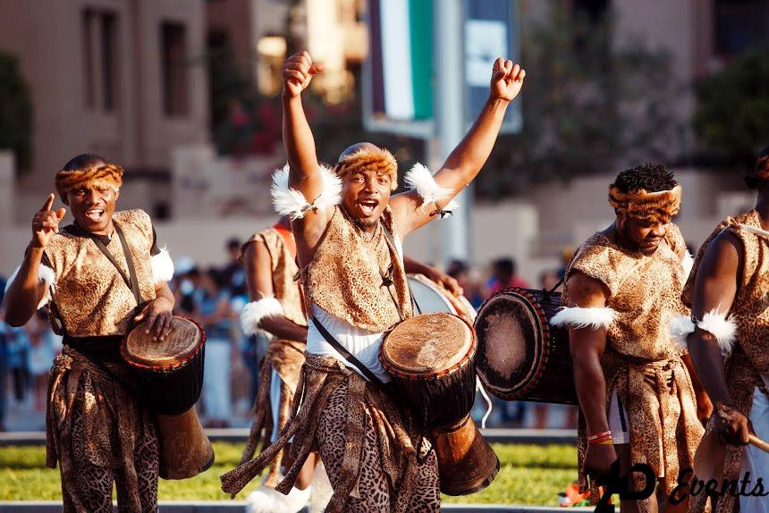 African drummers for public events