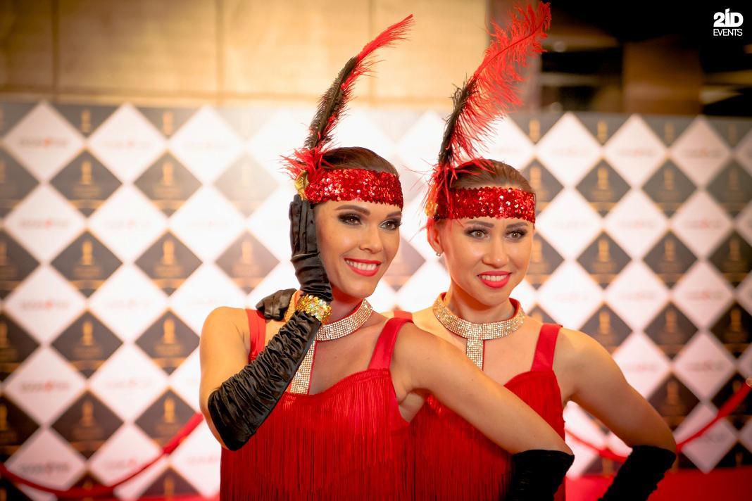 Burlesque dance for gala dinners