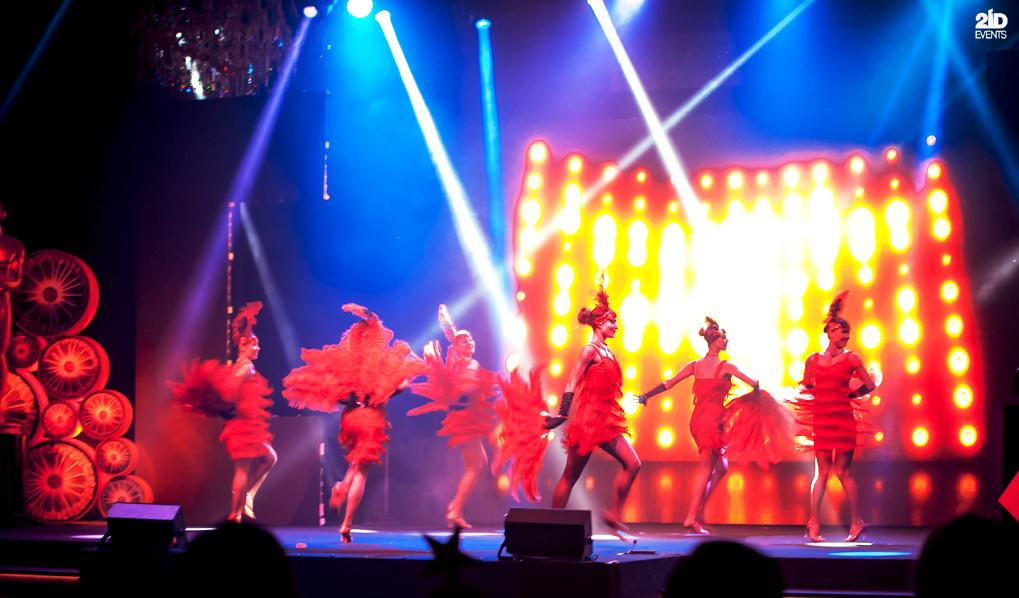 Burlesque dance for corporate events