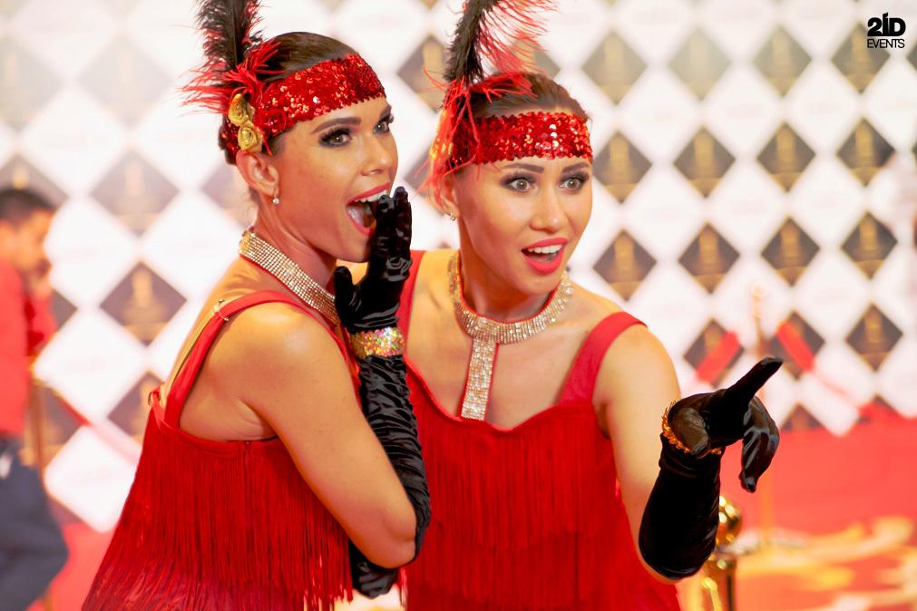 Burlesque dance for festivals