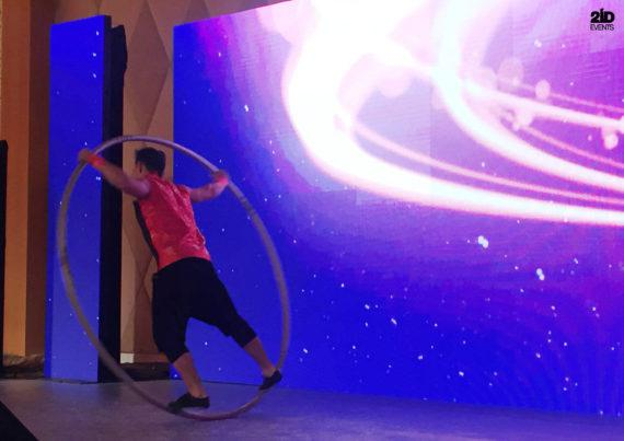 Cyr Wheel Show for special events