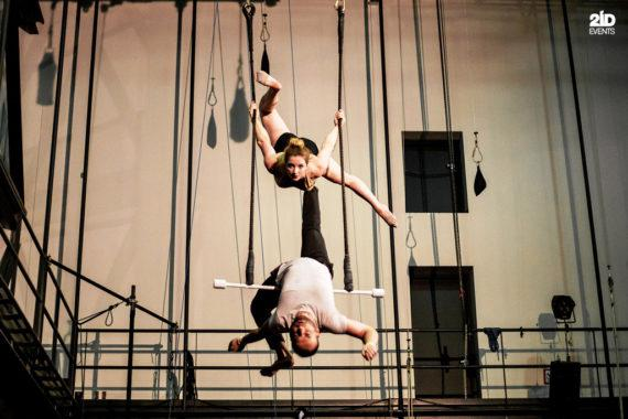 Duo trapeze sport occasions