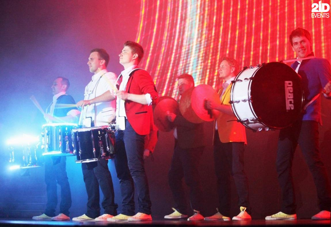 Drum Show for gala dinners