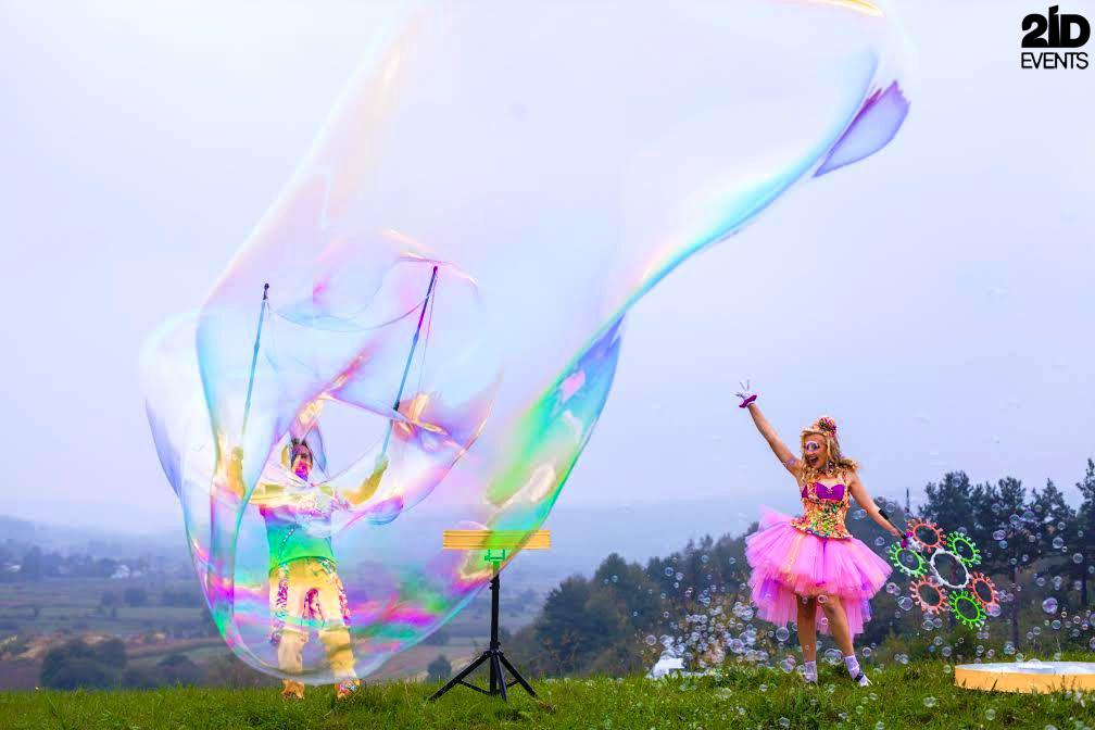 Bubble show for kids events