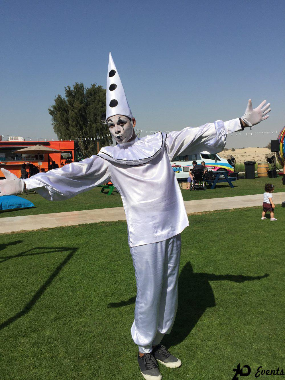 2ID - MIME ARTIST FOR THE PUBLIC EVENT