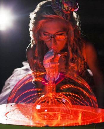 Bubble show in Dubai