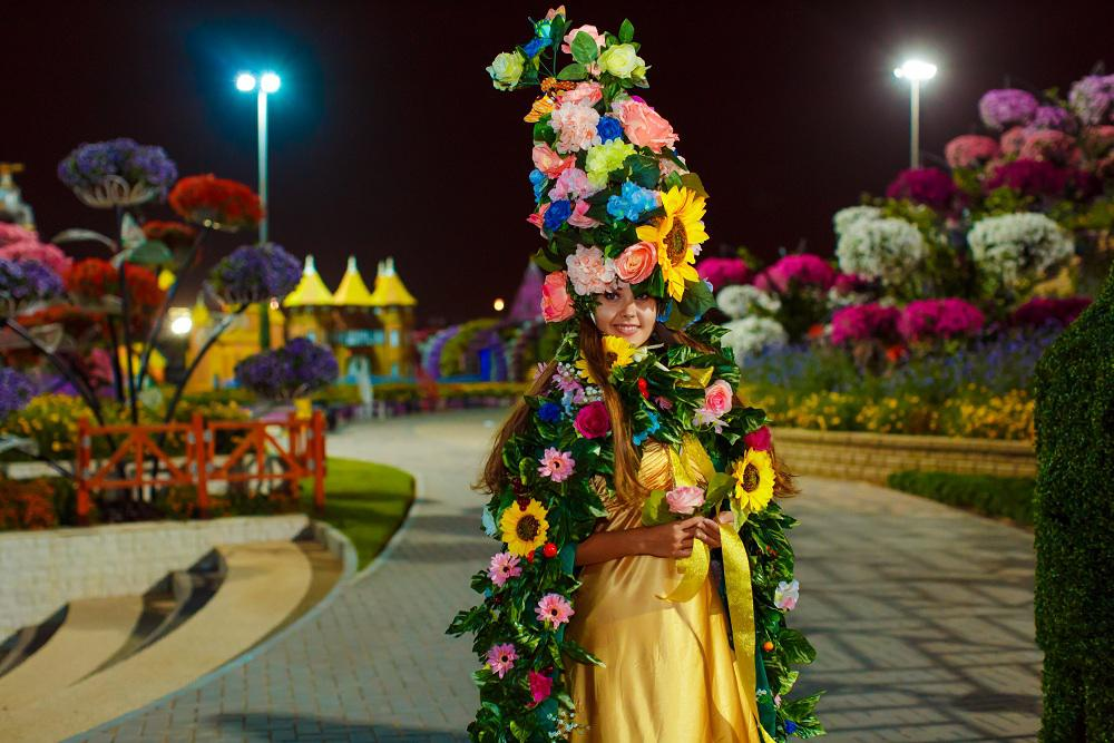 2ID - FLOWER GIRL FOR GRAND OPENING OF MIRACLE GARDEN