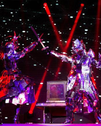 Mirror Illusion Show in Dubai