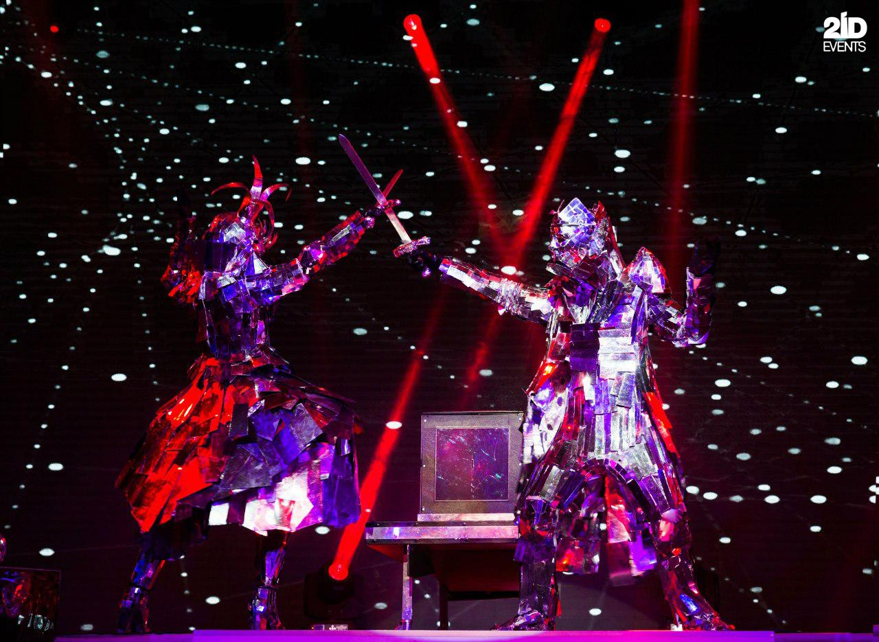 Mirror Illusion Show for corporate events