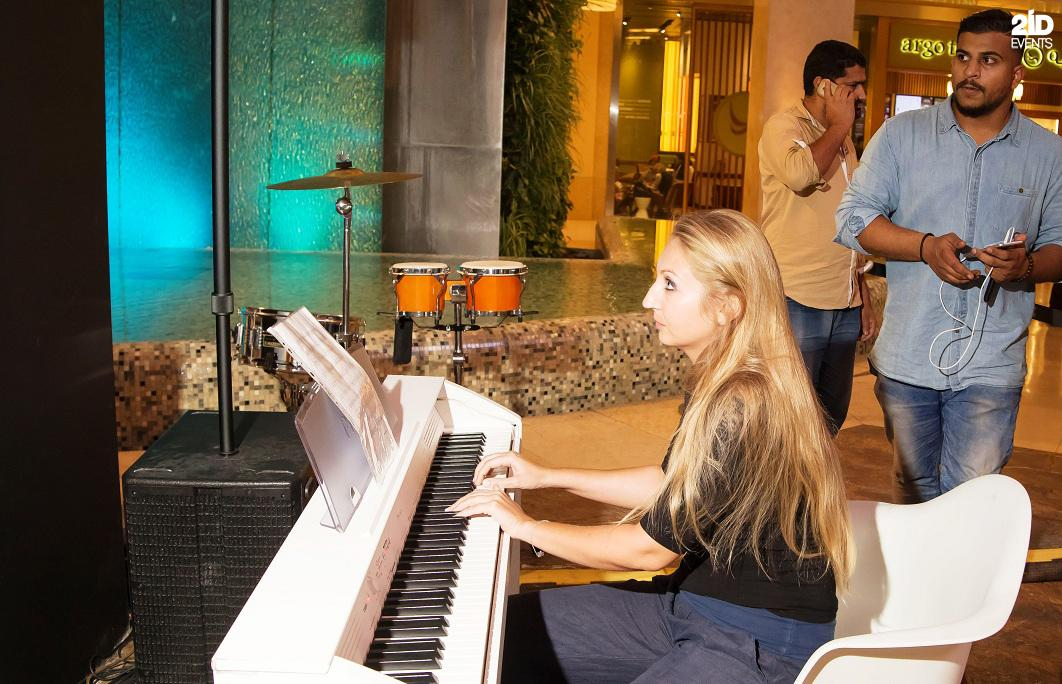 Musical Flashmob for corporate events