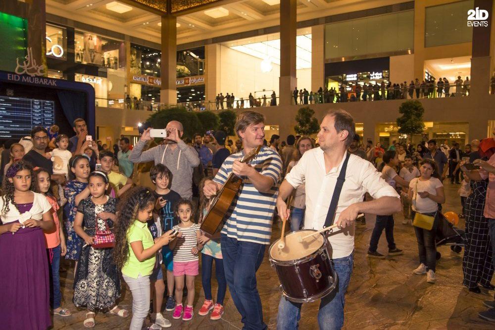 Musical Flashmob for festivals