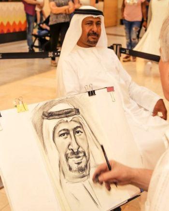 Portraitist in the UAE