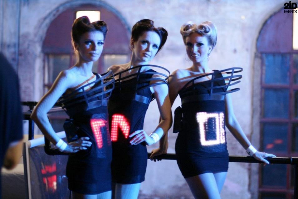 Interactive Hostesses for special event