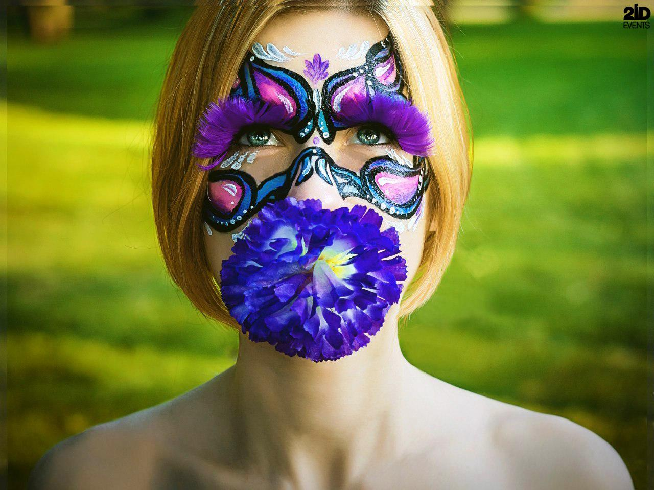 Face and Body Painter for testivals