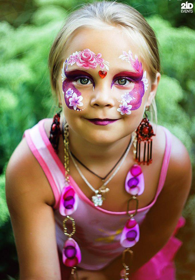Face and Body Painter for kids` events