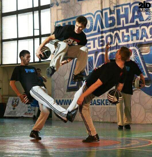 Basketball Freestylers Team for corporate events