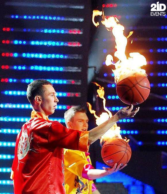 Basketball Freestylers Team for themed events