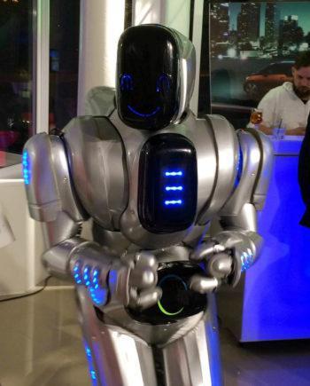 Friendly Robot in Dubai