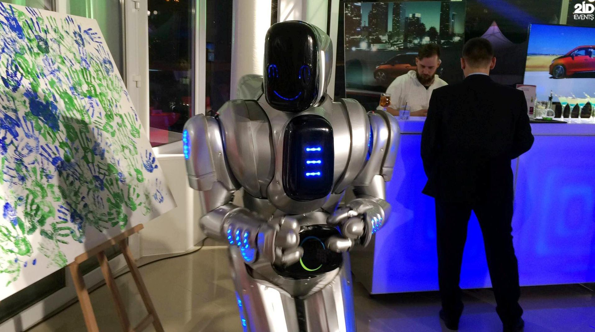 Friendly Robot for exhibitions