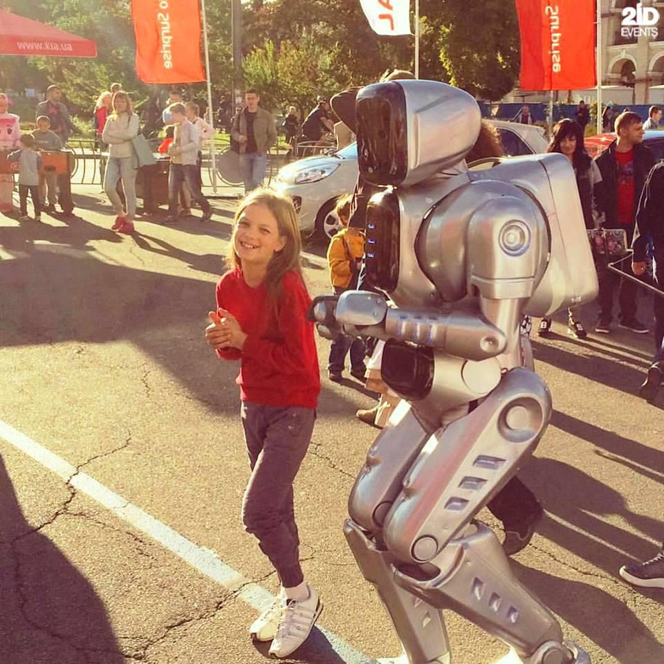 Friendly Robot for festivals