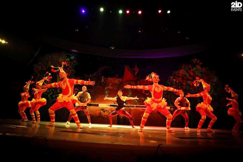 Circus Show ifor gala dinners