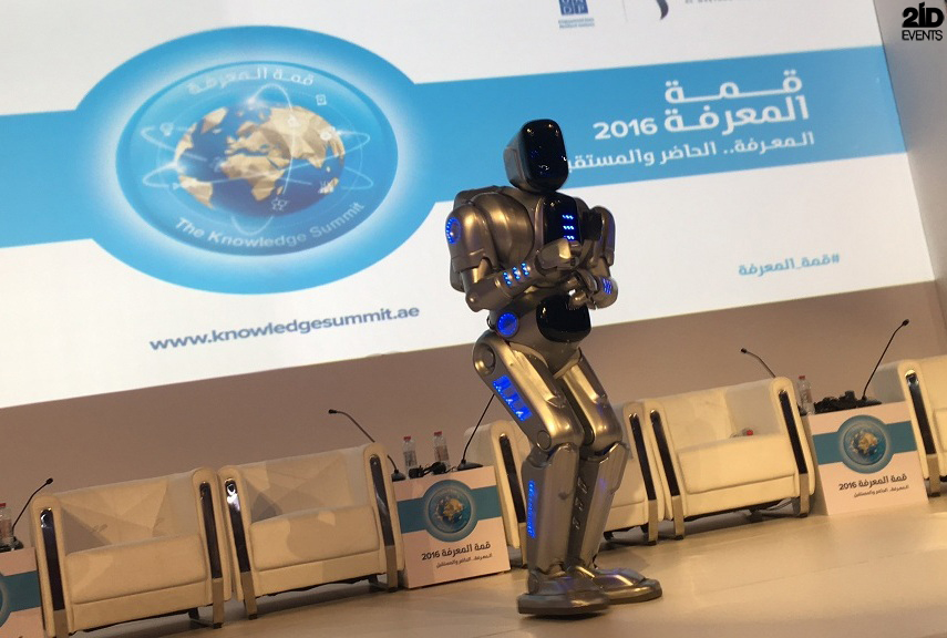 ROBOT FOR THE KNOWLEDGE SUMMIT