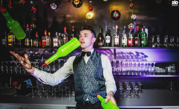 Bartender Show for corporate events