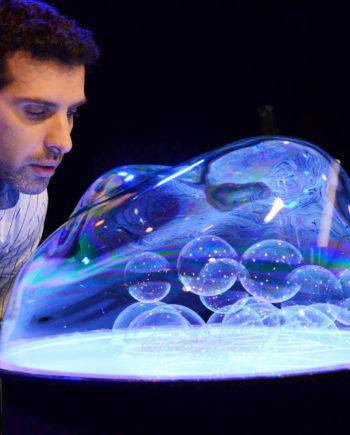 Bubble Art in Dubai