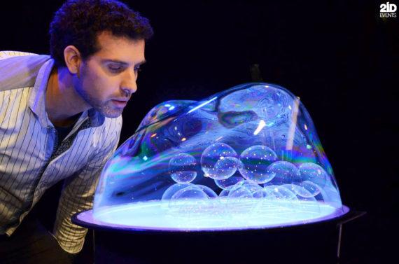 Bubble Art for kids events