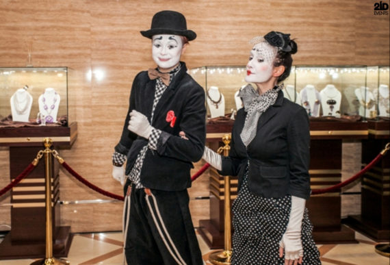 Funny Mimes for festivals