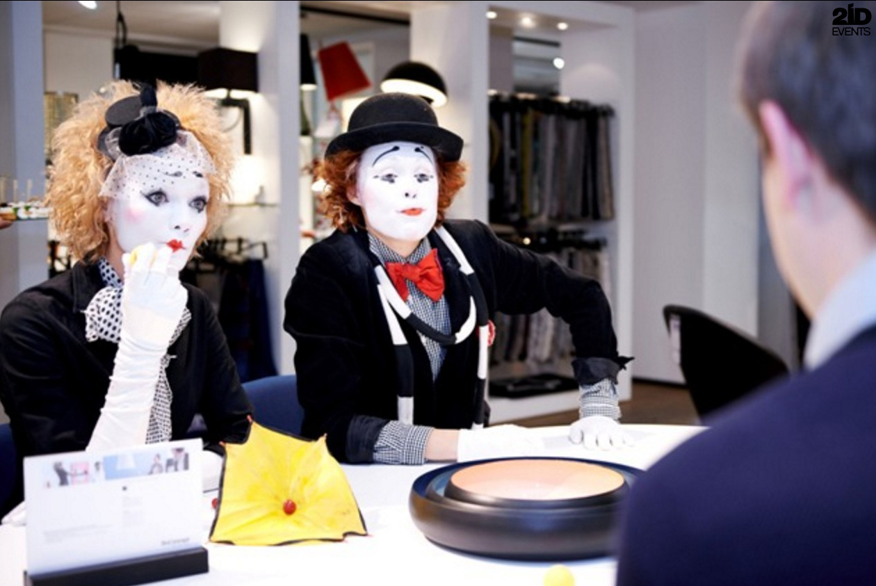 Funny Mimes for product launch