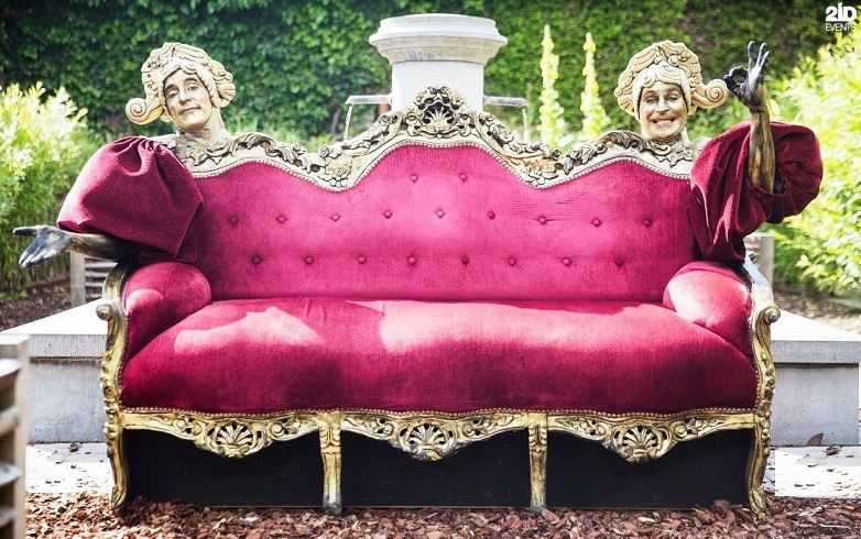 Alive Couch for festivals