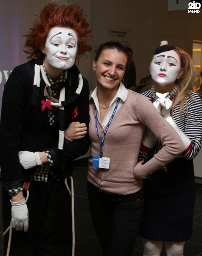Funny Mimes for exhibitions