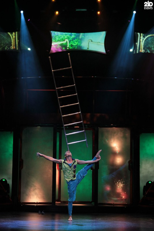 Ladder Acrobat for festivals