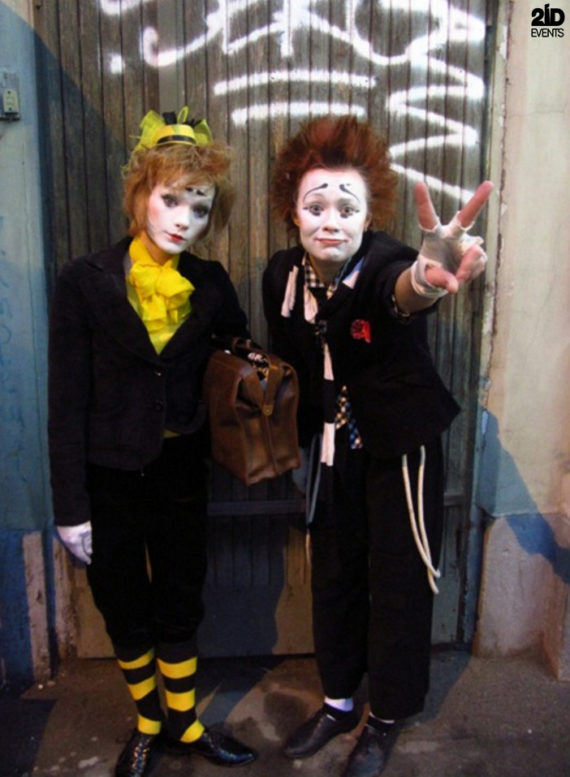 Funny Mimes for themed events