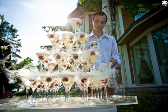 Bartender Show for gala dinners
