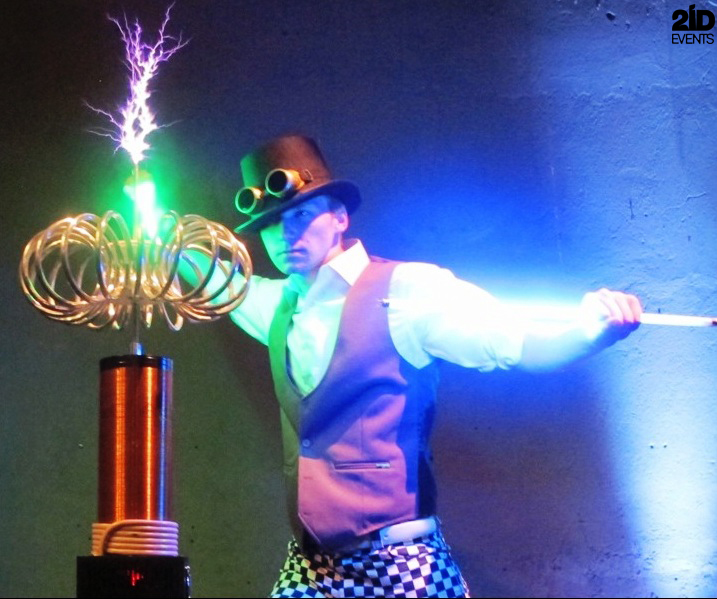 Hi Tech Performance for themed events