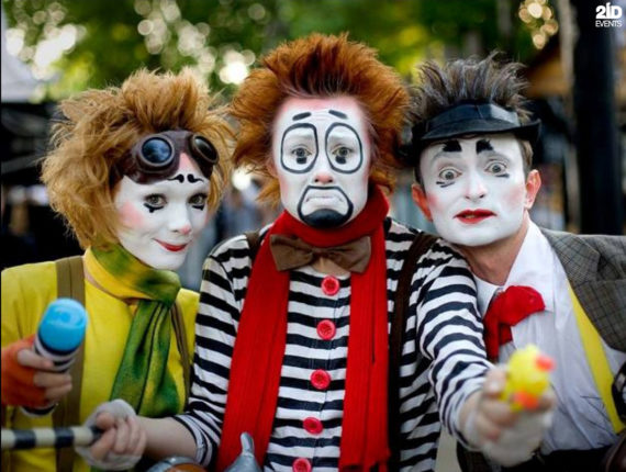 Funny Mimes for special events
